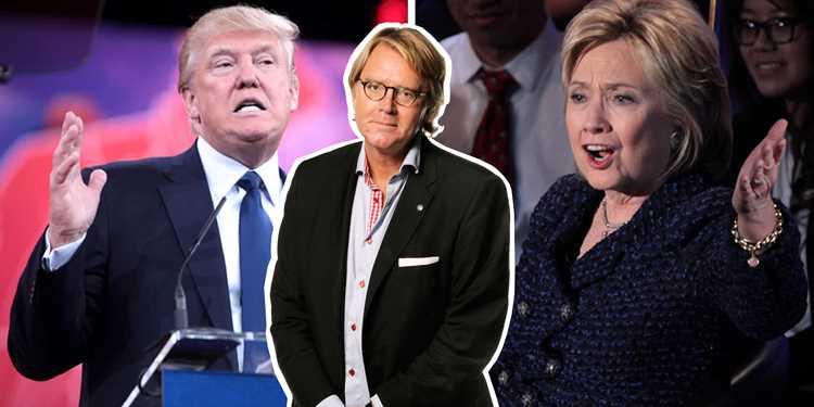 Trump vs Clinton – ett politiskt samtal med Per T Ohlsson