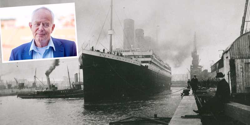 Unik visning av utställningen Titanic