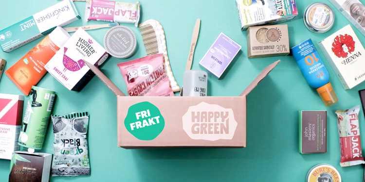 Handla hälsoprodukter på happygreen.se