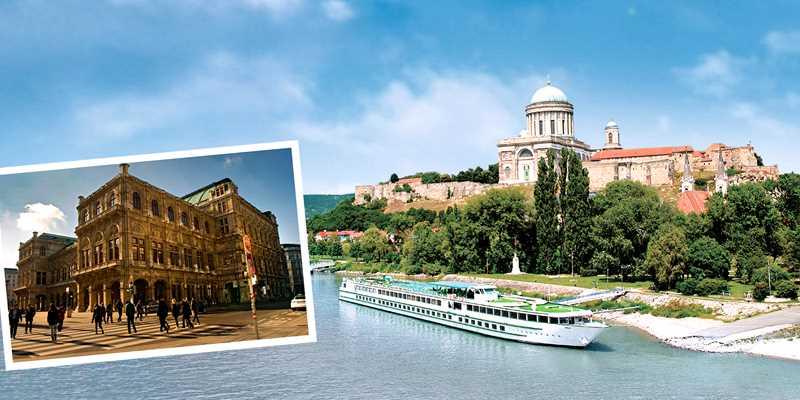 Donaukryssning med tre kulturhistoriska huvudstäder
