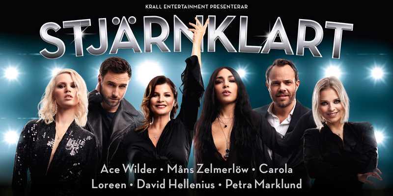 Landets mest stjärnspäckade show är i Helsingborg 1/12