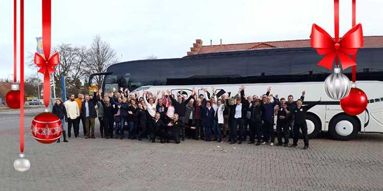 Shoppingresa med BK Buss till Priss gränshandel och Julmarknad i Burg, Tyskland