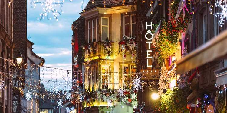 Avkopplande och stämningsfull Julmarknadskryssning, Strasbourg - Köln