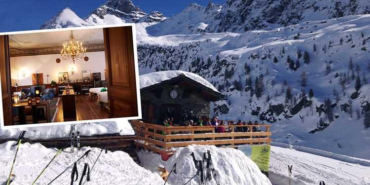 Fira julen i italienska Alperna