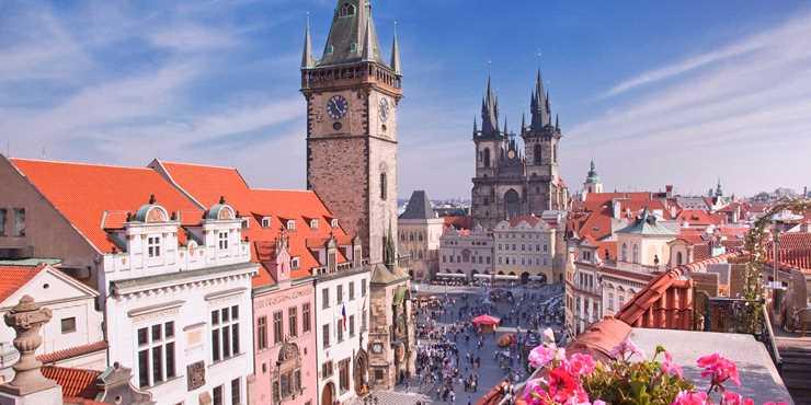 Prag - den gyllene staden