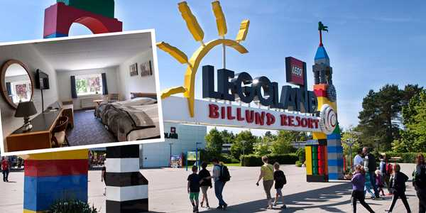 Sköna familjedagar vid Legoland