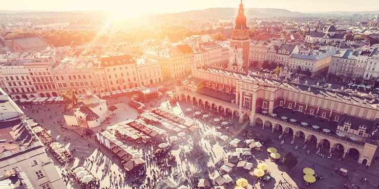 Följ med Resia till Krakow!