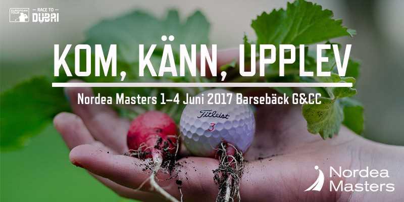 Se golf i världsklass på Nordea Masters