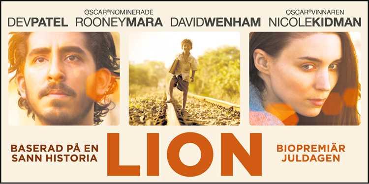 Ge dig chansen att vinna biobiljetter till filmen Lion!