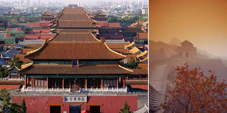 Kultur och julshopping i Peking