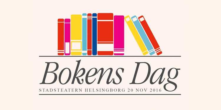 Bokens Dag – ett nytt bokarrangemang i regionen