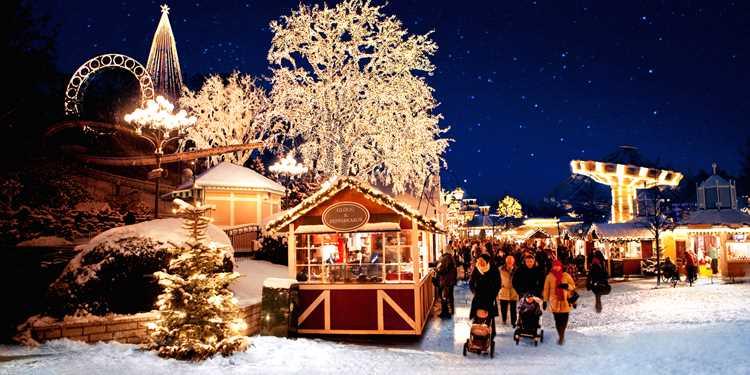 Följ med till Lisebergs julmarknad!