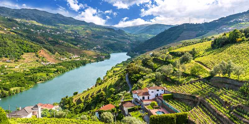Flodkryssning på Douro