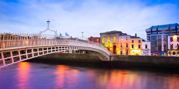 Dublin med Tradfest Temple Bar