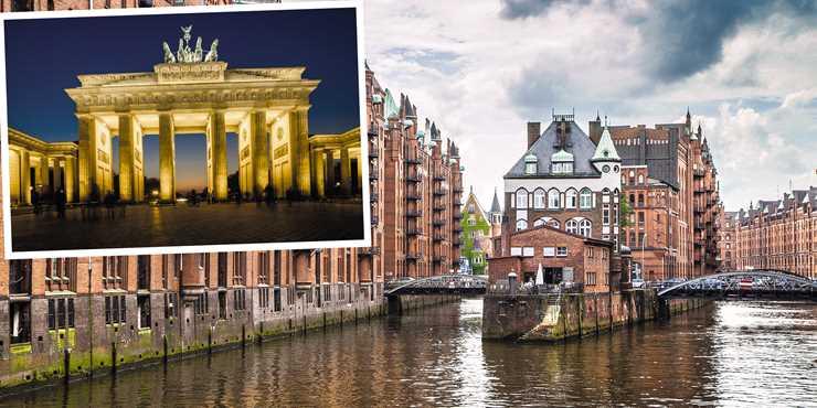 Från Hamburg till Berlin - Nutidshistoria i Europas mitt