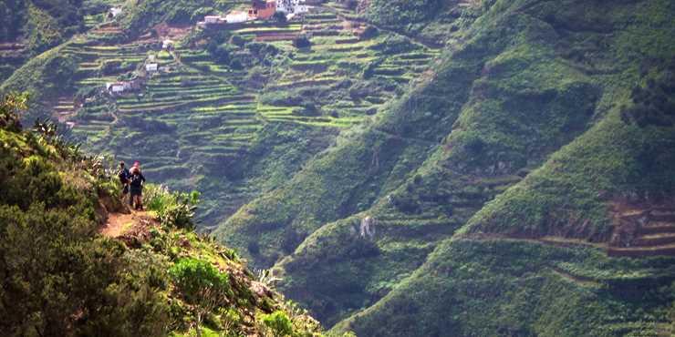 Vandring på Kanarieöarna, Teneriffa och La Gomera